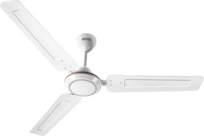 Luminous Morpheus White 3 Blade Ceiling Fan(White) 1200mm
