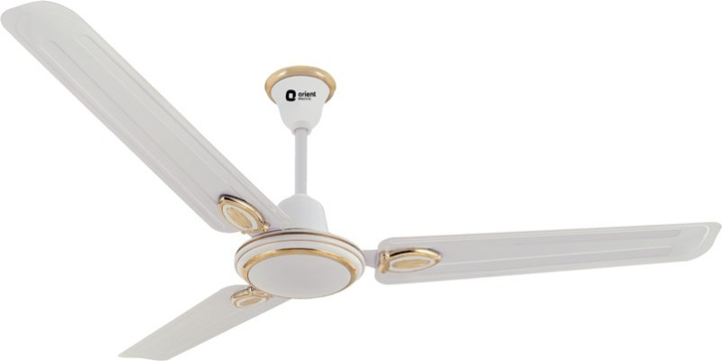 Orient Electric Pacific Air Decor 3 Blade Ceiling Fan(White)