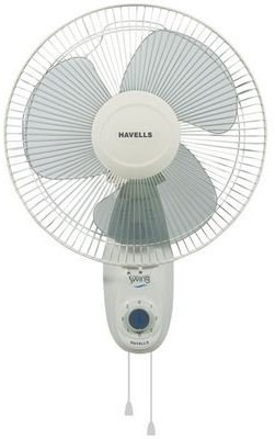 Havells Swing Off 400 mm 3 Blade Wall Fan(White)