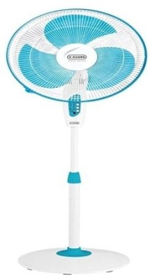 V-Guard Finesta Sts 400mm 3 Blade Pedestal Fan(Blue, White)