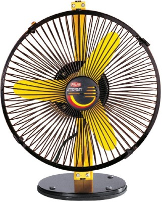 Polar Stormy 3 Blade Table Fan(Yellow) 230mm