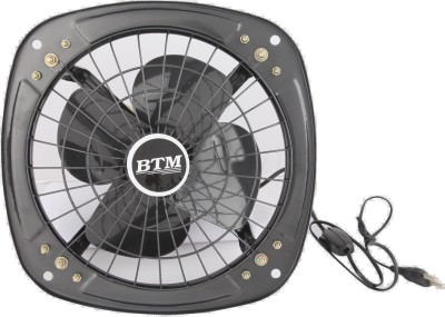 BTM EXHAUST FAN 9 INCH 4 Blade Exhaust Fan