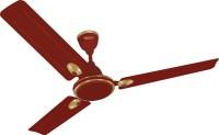 Maharaja Whiteline Zest Deco CF-194 3 Blade Ceiling Fan(Brown)