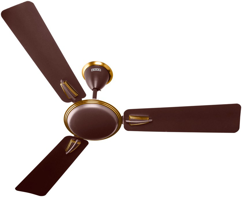 Usha Vetra 1200mm 3 Blade Ceiling Fan Brown
