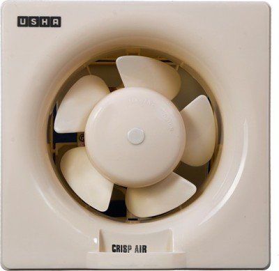 Usha Crisp Air 250 5 Blade Exhaust Fan(Beige)