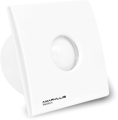 Amaryllis Star(W)-4inches 5 Blade Exhaust Fan(white)