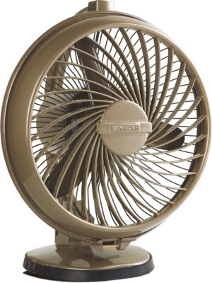Luminous Buddy 230mm 3 Blade Table Fan (Brown)