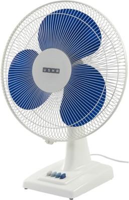Usha Mist air Mist Air Ex 3 Blade Table Fan(Blue, White) 400mm