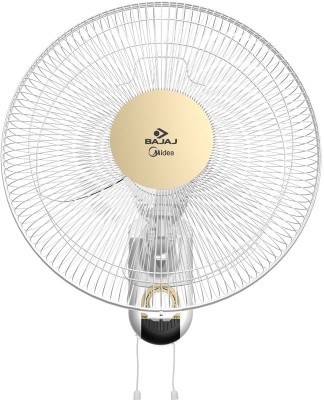 Bajaj Midea BW 07 400mm 3 Blade Wall Fan(White)