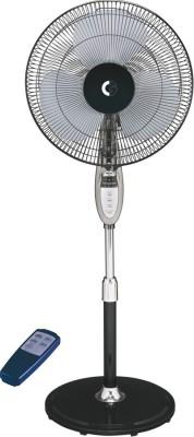 Crompton Easter 400mm remote 3 Blade Pedestal Fan(White)