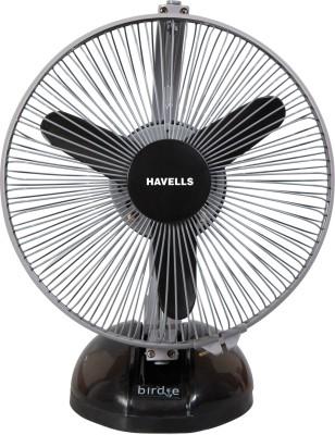 Havells Birdie 3 Blade Table Fan(Black & Grey) 230mm