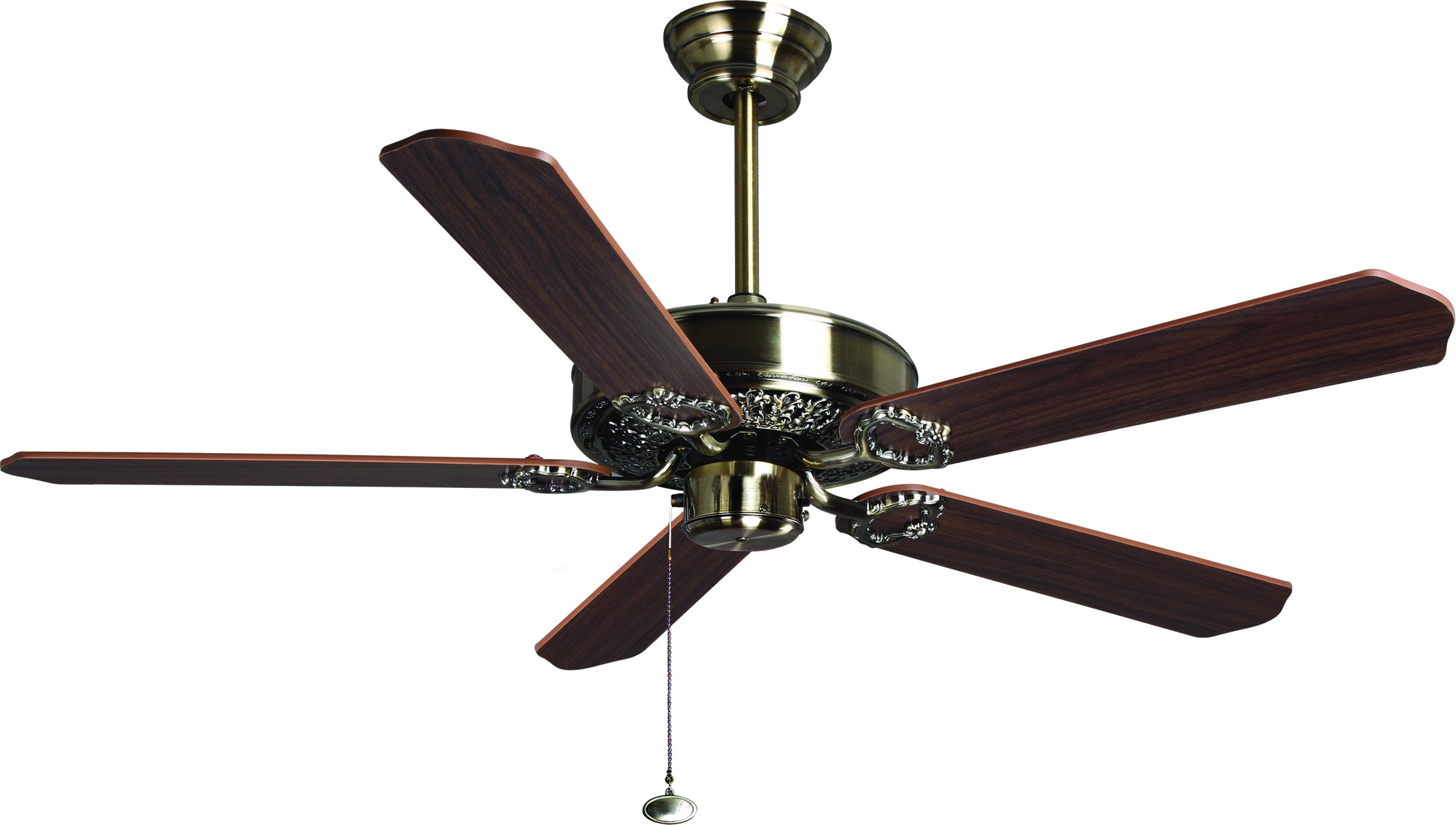 View Fanzart Florence 5 Blade Ceiling Fan(Brown) Home Appliances Price Online(Fanzart)