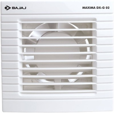 Bajaj Maxima DxI G02 5 Blade Exhaust Fan(White)