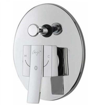 Ganga 1521 New Line High Flow Single Lever Concealed Divertor Upper Parts (Handle + Flange + Sleev) Faucet