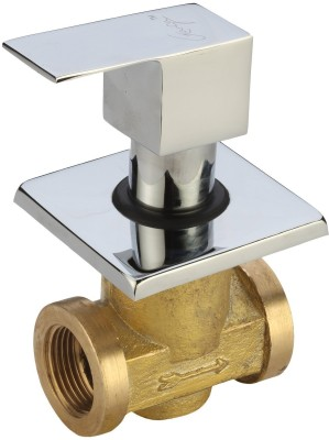 Ganga 906 Kubix-F Concealed Stop Cock, Extra Heavy Body With Adjustable Wall Flange Faucet