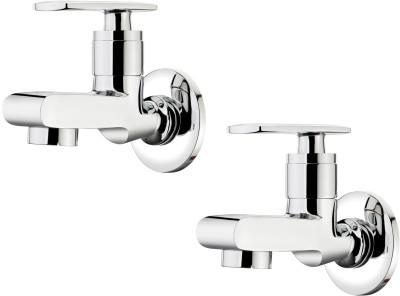 Ganga 301 Liva Bib Cock With Wall Flange (Set of 2 Pcs) Faucet