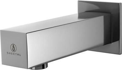 Sheetal 3118 Kubic Bath Tub Spout With Wall Flange Faucet