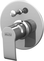 Sheetal 1916 Liva (High Flow) Single Lever Concealed Divertor For Bath & Shower Mixer Faucet(Wall Concealed Installation Type)