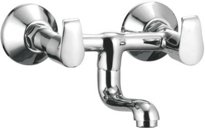 APREE Silver Brass Wall Mixer Non Telephonic : Series- AUSTIN Austin Faucet