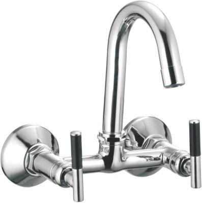 APREE Silver Brass Sink Mixer : Series- ART Art Faucet