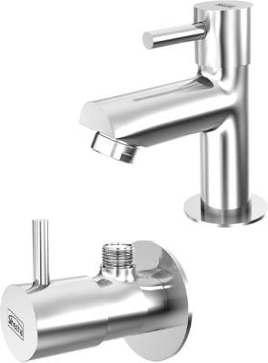 Sheetal COMBO-1803-1804 Shine Pillar Cock and Angular Stop Cock Combo Faucet