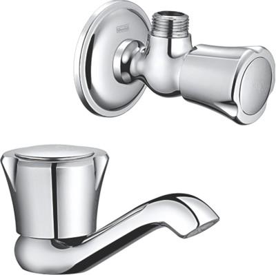 Sheetal COMBO-2303-2304 Sheetal - Galaxy Pillar Cock & Angular Stop Cock Combo Faucet