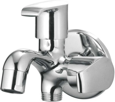 APREE Silver Brass Bib Cock 2 in 1 : Series- AUSTIN Austin Faucet