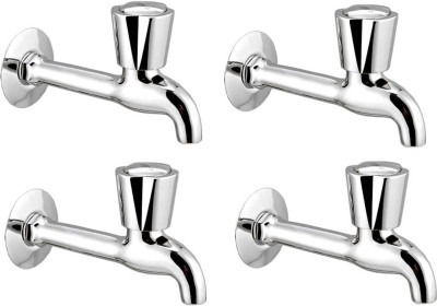APREE Silver Brass Long Body : Series- Vguard (Pack of 4) Faucet