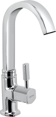 Cera CS 1422 Pillar Cock With Swivel Swan Neck Faucet(Deck Mount Installation Type)