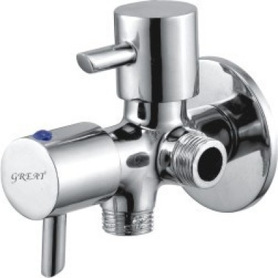 Great Ideal F*F Angle Cock Two Way Faucet
