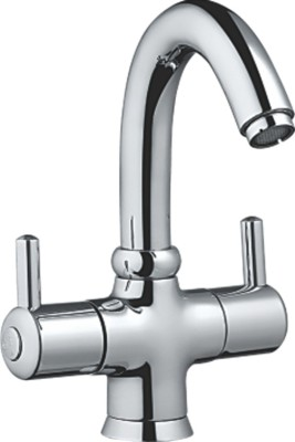 Sheetal 1011 Flt Center Hole Basin Mixer Without Pop-Up West System Faucet