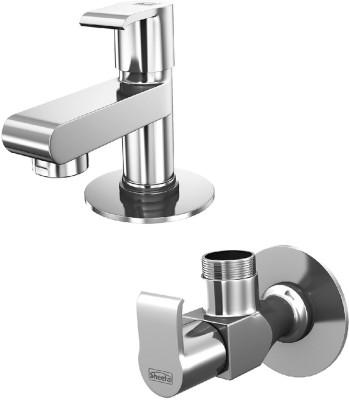 Sheetal COMBO-1903-1904 Liva Pillar Cock and Angular Stop Cock Combo Faucet