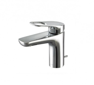 Toto TTLR301F-1 Rei-R Single Lever Lavatory Faucet With Pop-Up Waste Faucet