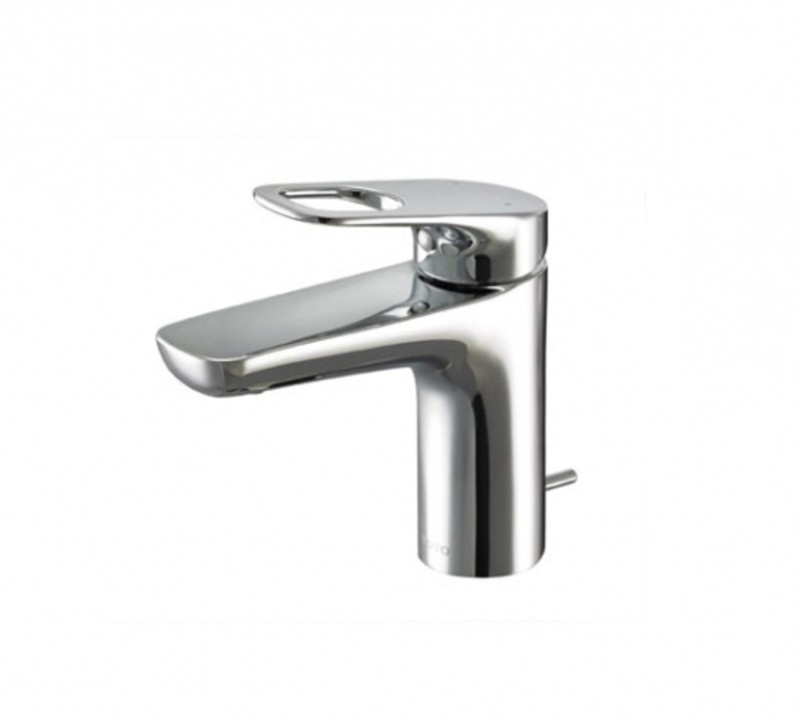 Toto TTLR301F-1 Rei-R Single Lever Lavatory Faucet With Pop-Up Waste Faucet(Deck Mount Installation Type)