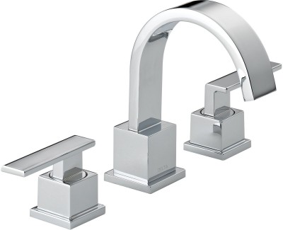 Delta 3553LF Vero Two Handle Lavatory With Riser Faucet