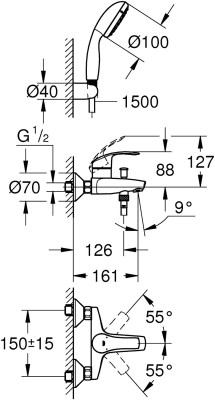 Grohe 33302002 Faucet