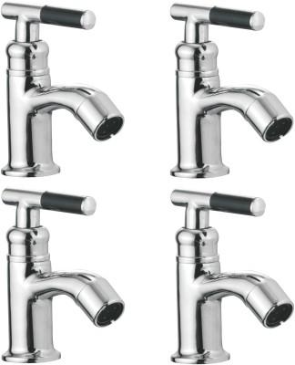 APREE Silver Brass Pillar Cock : Series- Art (Pack of 4) Faucet