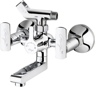 Ganga 313 Liva Wall Mixer With Crutch For Arrangement of Telephonic Shower Faucet