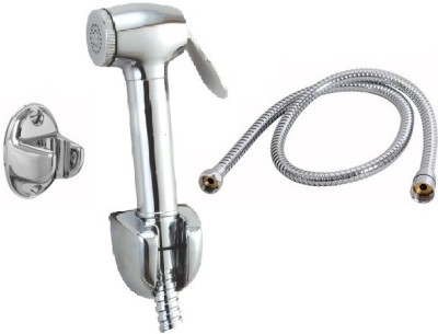 SEK 1112-7 Dolphin ABS Health Faucet with Hook,1Mtr Flexible S.S Pipe Faucet