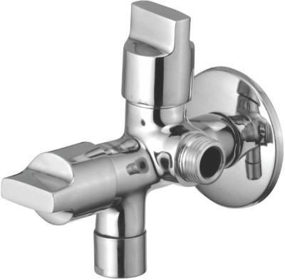 Kamal Two In One Bib Cock - Flute (FLT-5618) Faucet