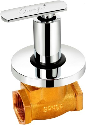 Ganga 315 Liva Flush Cock With Washer System And Adjustable Wall Flange (25 mm) Faucet