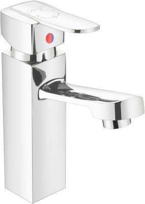 Ganga 1217 Flort Single Lever Basin Mixer With 450 mm Braided Hoses Faucet