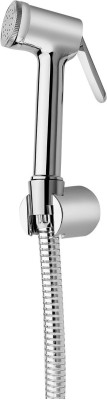 Ganga 003 Allied Bidet Sprey (Health Faucet) With 1 Mtr. Tube & Hook (Full Brass) Faucet