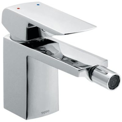 Toto TX303BKBR Cocktail Single Lever Bidet Faucet With 1.25 Inch Pop-up Waste Faucet