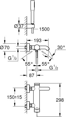 Grohe 33628001 Faucet