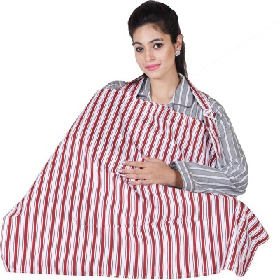 Lula Mom Printed Feeding Cloak(Red)