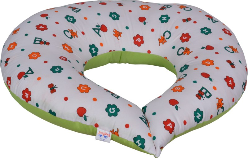 Jinglers Nursing Pillow Feeding Cloak(Lgreen)