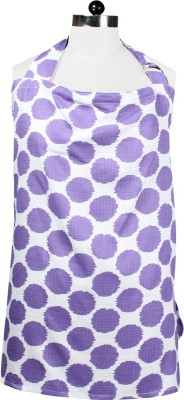Bacati Nursing Cover Feeding Cloak(Purple)