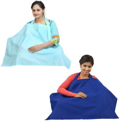 LULA MOM Feeding Cloak(Classic Blue, Mint Green)