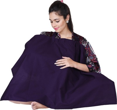 Lula Mom Solid Feeding Cloak(Purple)